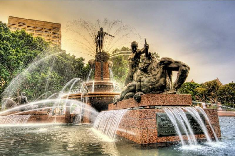 Archibald Fountain Sydney Australia 13 Beautiful Fountains Around The World