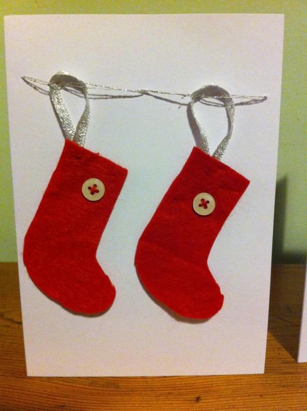 DIY Original Christmas Cards