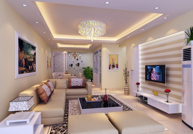 simple ceiling designs for living room | Conceptstructuresllc.com
