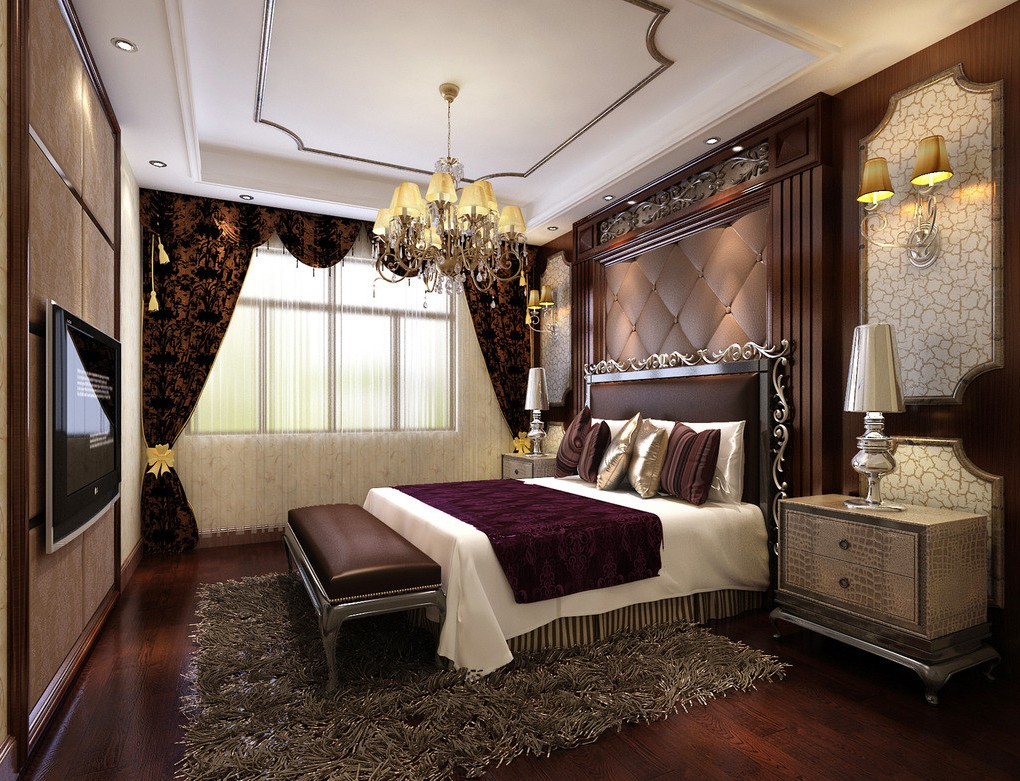 15 Incredibly Modern And Glamour Bedrooms That You Will Want Them Immediately
