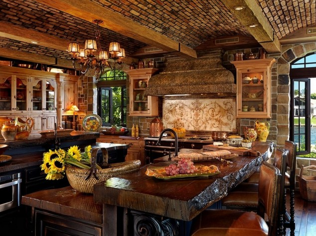 Country Themed Kitchen Decor
