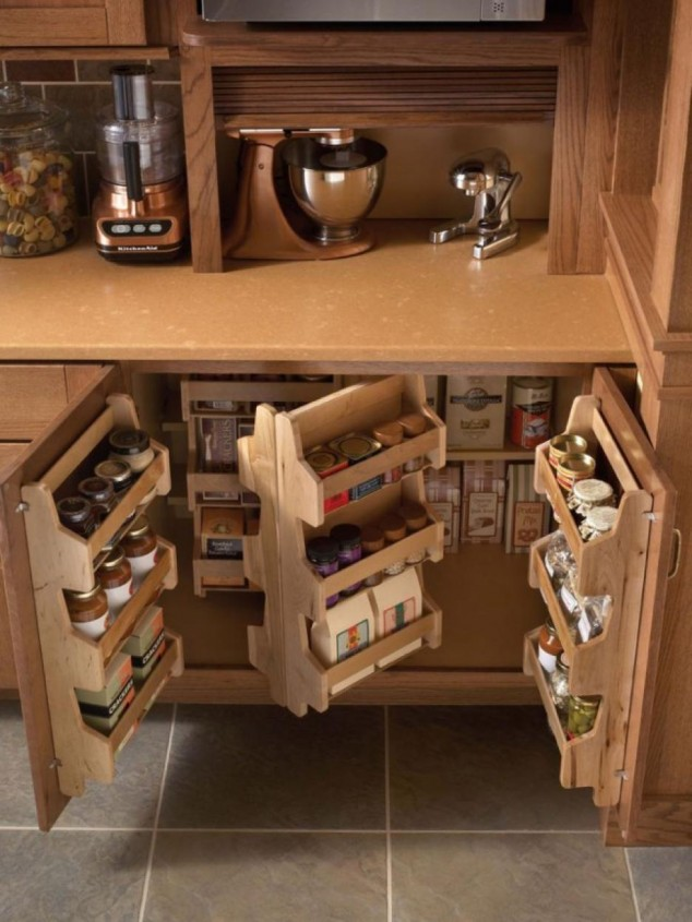 12 46 634x845 17 Ideas creativas que pueden ayudarle a ahorrar algo de espacio en su cocina