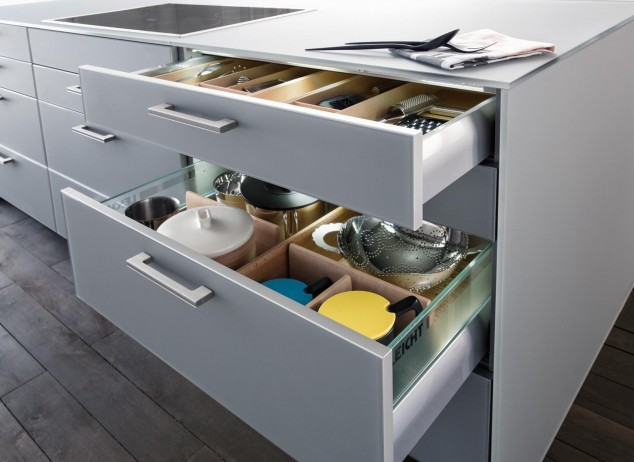 213 226 282 100 D06 NCS J14 634x462 17 Ideas creativas que pueden ayudarle a ahorrar algo de espacio en su cocina