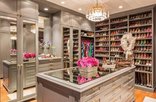 16 634x416 12 Glamorous Dressing Room Closet Ideas For The Ladies