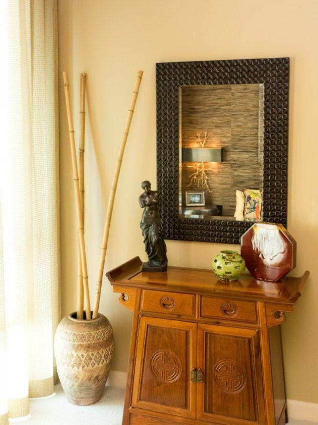 idC3A9e dC3A9co intC3A9rieure bambou1 634x846 16 adornos de bambú del árbol para la decoración del hogar de Thar son a la vez encantador y funcional