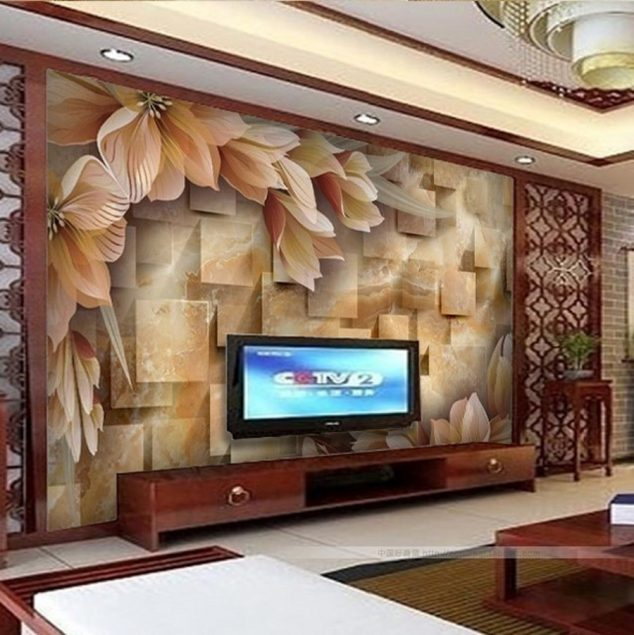 16 Creative 3D Living Room Wallpaper Ideas That You Should Check custom 3d photo wall paper3d stereoscopic large mural living room elegant  wallpaper for living room wall