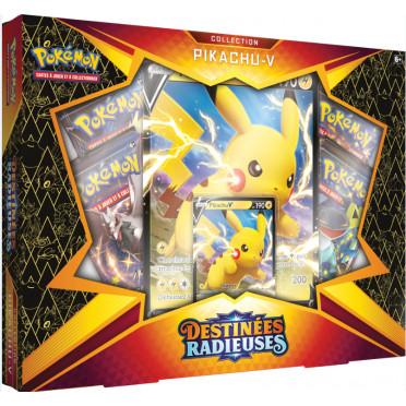 coffret pokemon destinees radieuses pikachu v