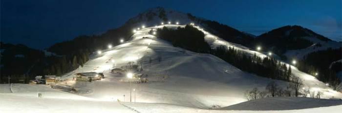 Foto avond skieen Soll