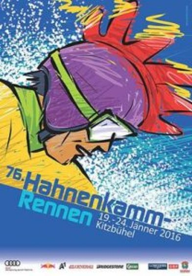 Hahnenkamm Plakat 2016