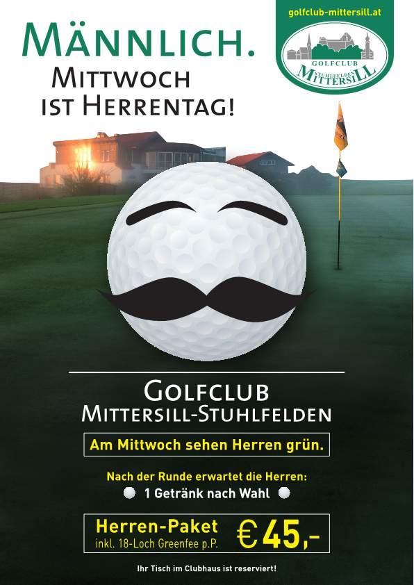 Golf Mittersill Herendag