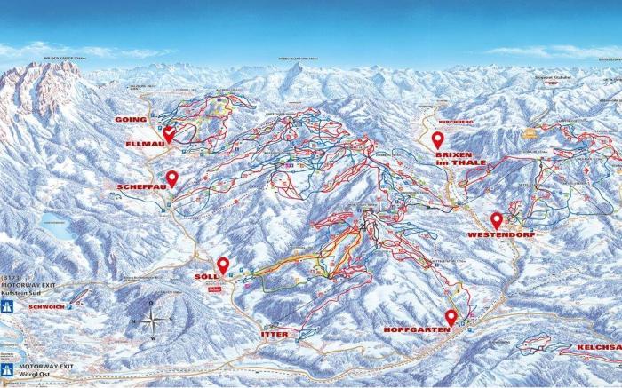 SkiWelt 360 graden panorama