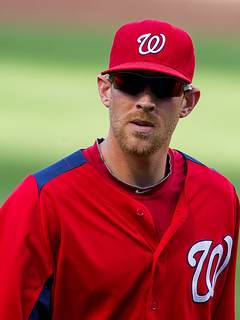 Fantasy Baseball - Failing to Meet Expectations - Stephen Strasburg