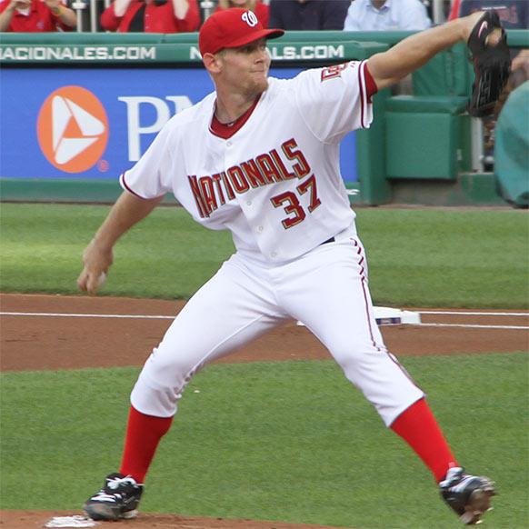 2013 fantasy baseball mock draft - Stephen Strasburg