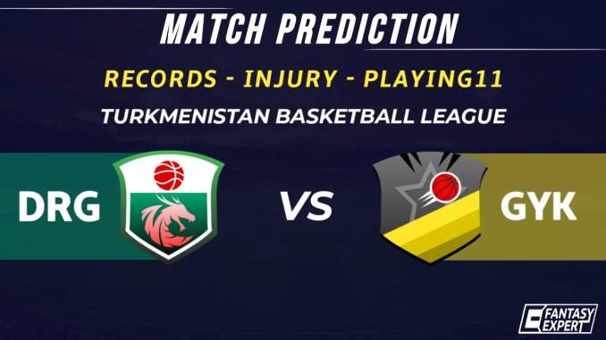DRG vs GYK Dream11 Team Prediction