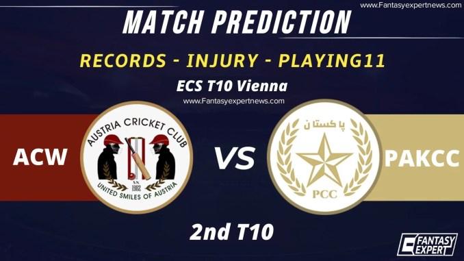 ACW vs PAK-CC Dream11 Match Prediction