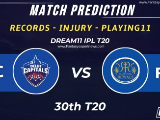 DC vs RR Dream11 Grand League Team