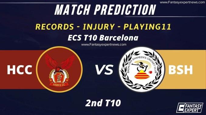 HCC vs BSH Dream11 Team Prediction