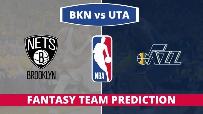 BKN vs UTA Dream11 Team Prediction