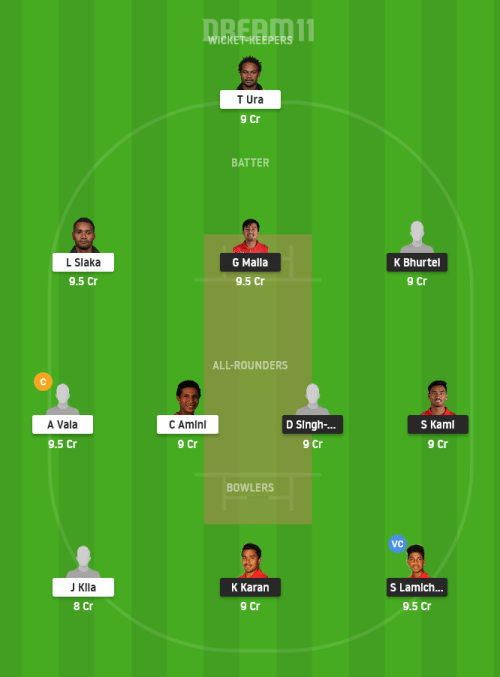 NEP vs PNG Dream11 Team Prediction for Small League