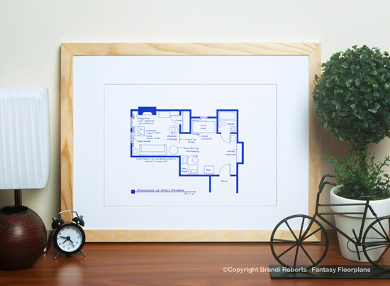 Rocky Balboa Floor Plan Apartment Layout