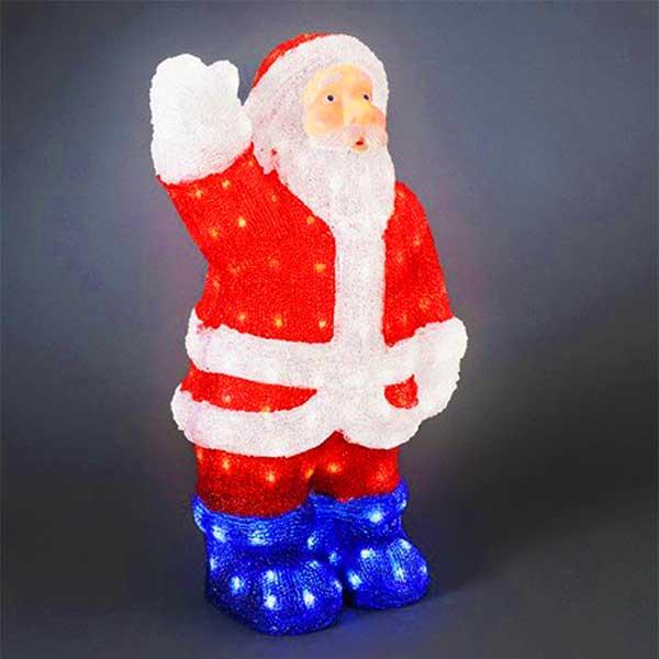 LED Christmas Waving Santa