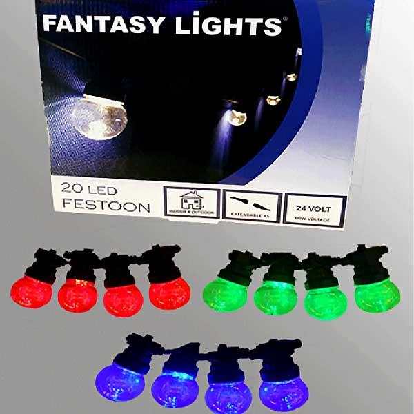 20 LED festoon Lights | Festoon Lights Ireland | Lighting Showroom Dublin
