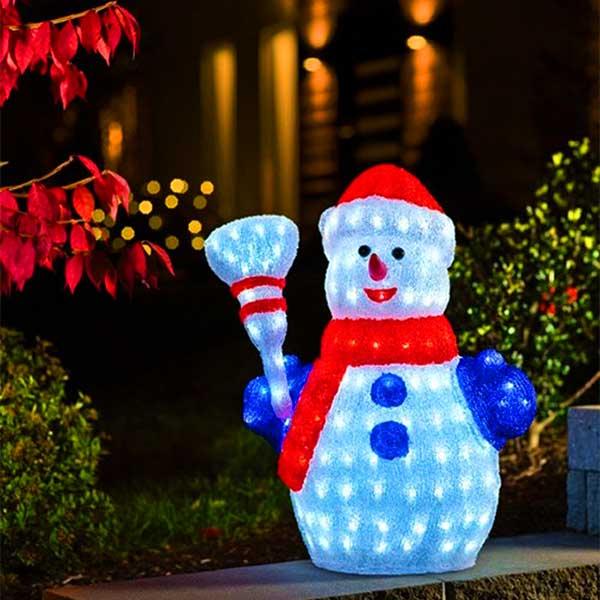 3D Snowmen