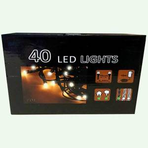 40 LED Christmas light