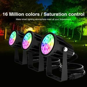 6W RGB CCT LED Spotlight 4