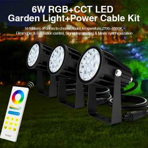 6W RGB CCT LED Spotlight 6
