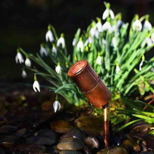 Adjustable Natural Copper Spotlight