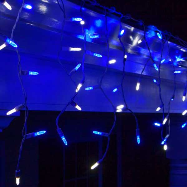 Blue-Ice-White-Icicle-Lights