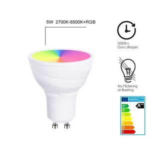 Smart Wifi GU10 RGB Bulb