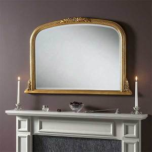 Mantle Gold Mirror