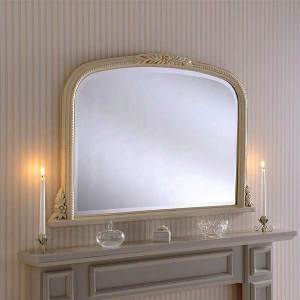 Mantle Ivory Mirror