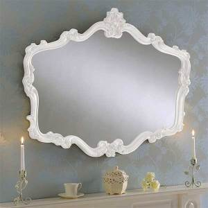 Mantle White Mirror