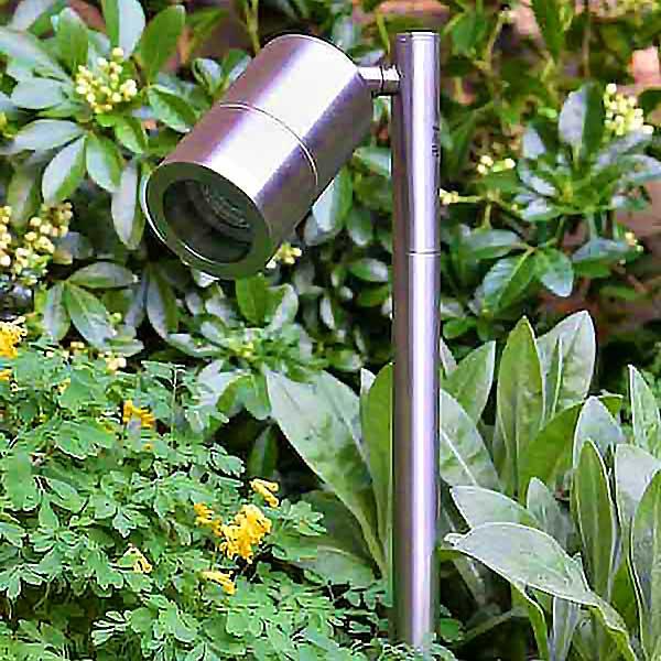 Pole Mount Outdoor Spotlight