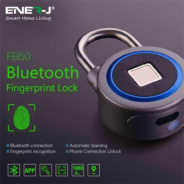 Smart Fingerprint Bluetooth Padlock