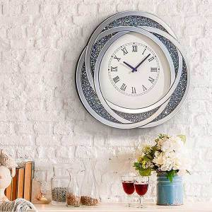 Smashed Glass Effect Clock