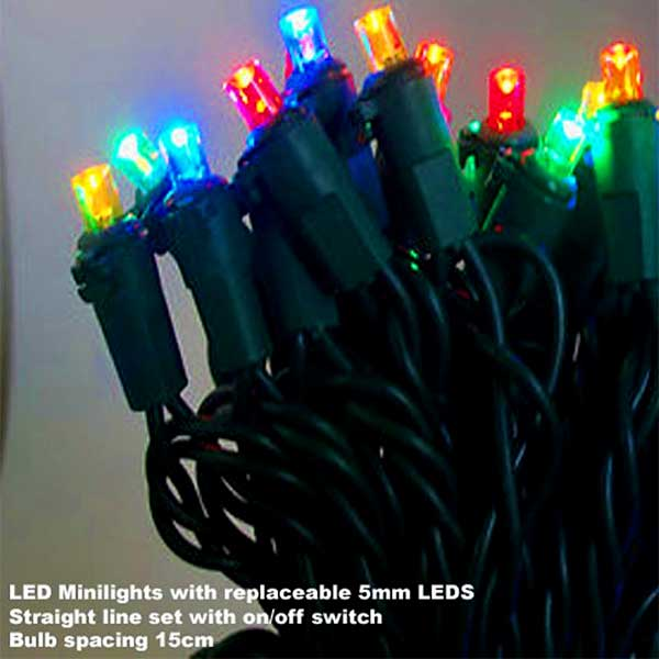 Connectable LED Christmas Lights