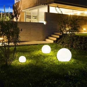 Garden Ball Lamps