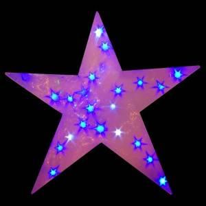 LED Blue 75CM 3D Star