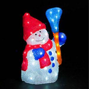 LED Christmas Snowmen