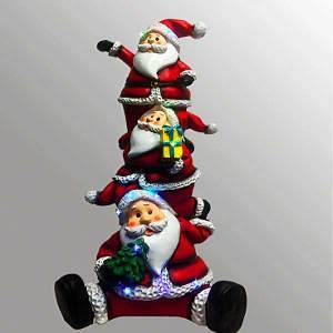 Santa Snowman Reindeer