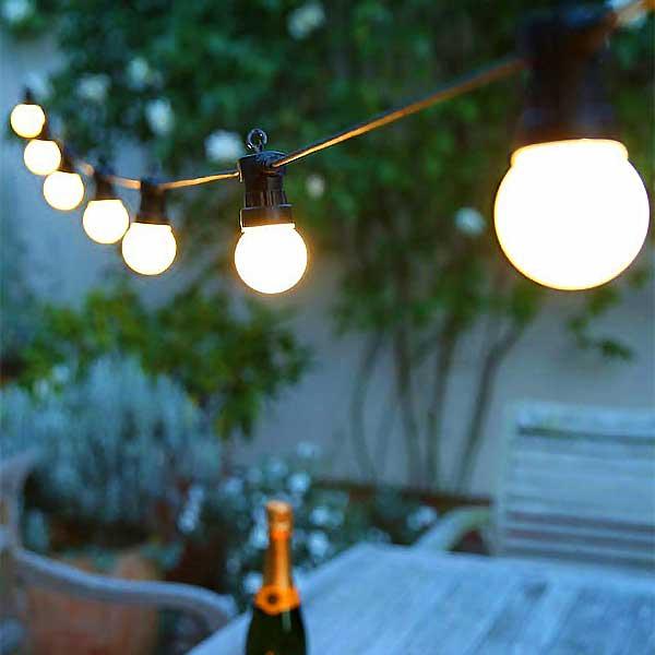 Festoon Lights Opal