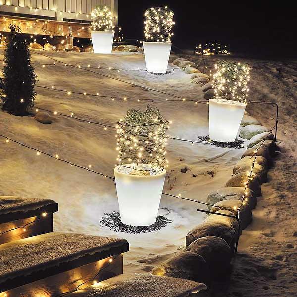 Flower-Pot-Christmas-Battery-Lights