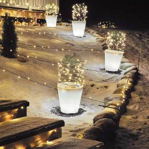 Flower-Pot-Christmas-Battery-Lights