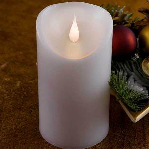 Moving Flame LED Candle 25CM