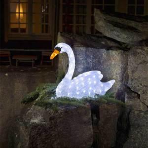 3D Acrylic Swan