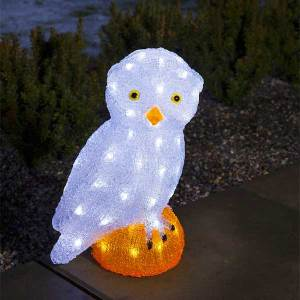 LED Acrylic Big Owl